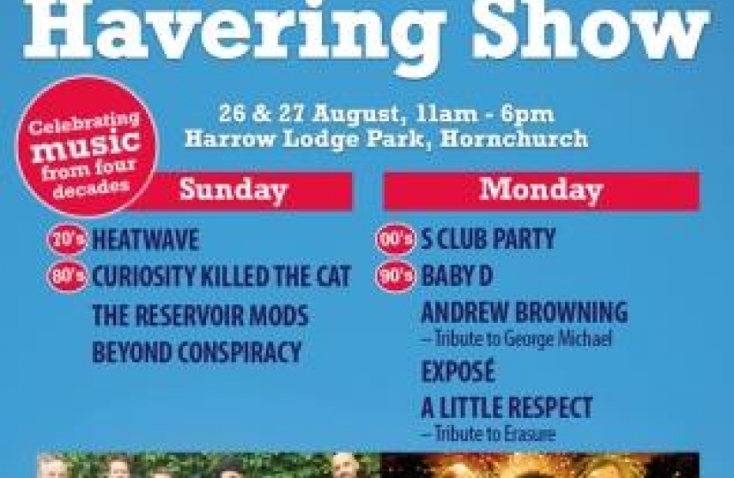 Don't miss the Havering Show
