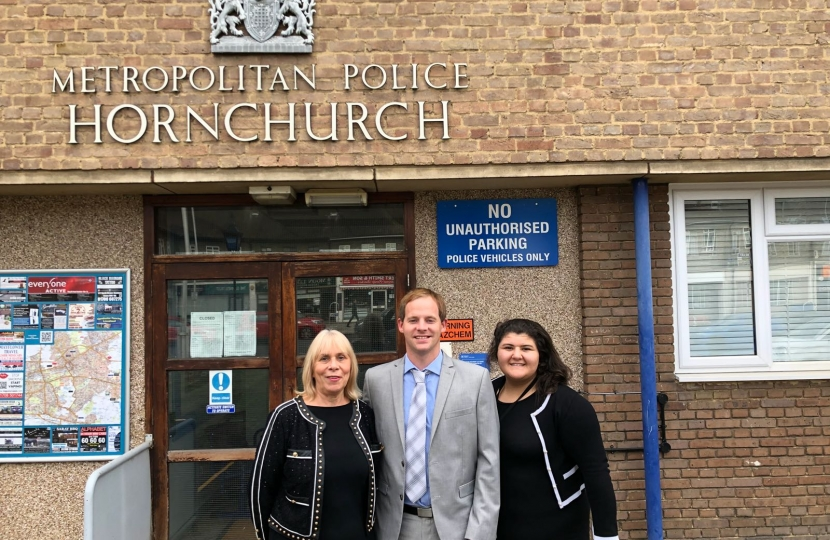 Cllrs Christine Smith, Ciaran White, and Maggie Themistocli are your local councillors for Hylands and have welcomed the announcement to save Hornchurch Police Station.